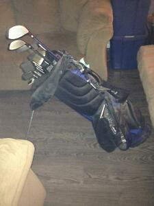 Spalding Tour Advance left handed clubs. Peterborough Peterborough Area image 2