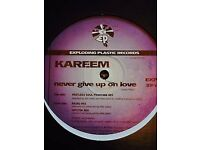 "Kareem ‎– Never Give Up On Love - Super Rare Brit Trip Hop 12"" 1997"