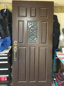Solid Douglas Fir Antique Door