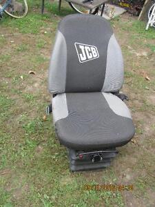 Manual suspension seat