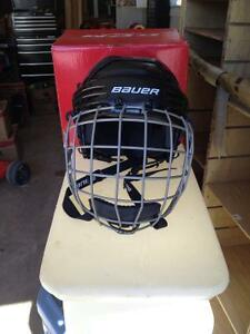 Youth hockey helmet