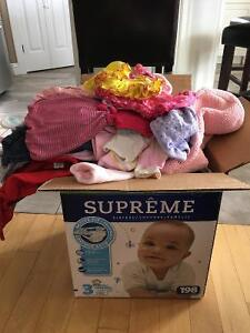 Baby girl clothes-great condition-various sizes