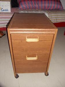 Woodgrain Filing Cabinet