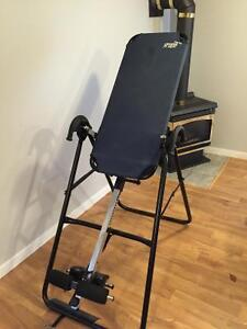Teeter hang up inversion table