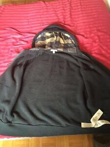 Burberry Hooded Cotton Jersey Top - Black West Island Greater Montréal image 5