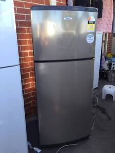 great working 410 liter great size stainless steel fridge, can de Blackburn South Whitehorse Area Preview