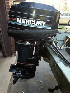 20hp Mercury outboard 2 Stoke