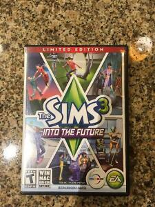 Sims 3 Into The Future Expansion Pack+Box/Paperwork