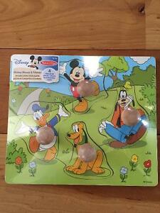 New! Melissa & Doug wooden Disney puzzles Kitchener / Waterloo Kitchener Area image 3