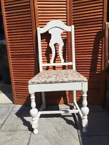 Antique- one of a kind hand made dinning room chairs London Ontario image 1