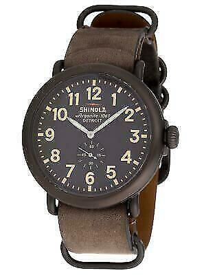 Shinola The Runwell Gunmetal PVD Stainless Steel 47MM Quartz Movement 10000169