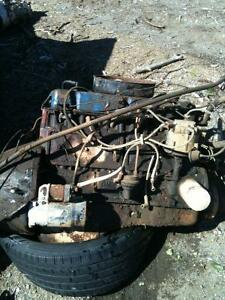 1967 Chevy truck 292 straight 6 engine and transmission with rad