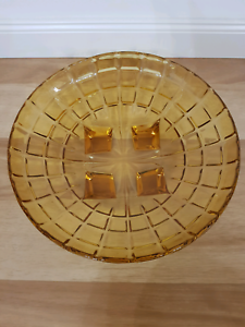 Yellow Retro Glass Bowl Gulfview Heights Salisbury Area Preview