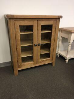 Hardwood cabinet