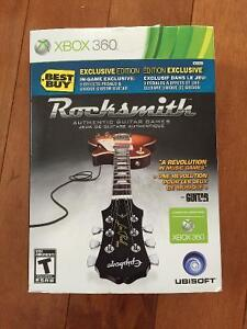 XBOX ROCKSMITH with CABLE