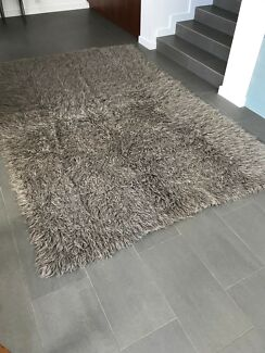 Shagpile rug genuine wool Pemulwuy Parramatta Area Preview