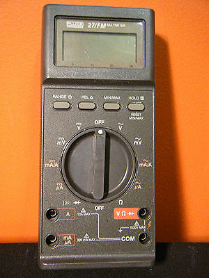 Fluke 27fm Digital Multimeter