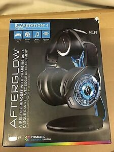 NEW PDP Afterglow PS4/PS3/PC/Mobile Devices Wireless Headset