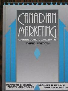 """""""Canadian Marketing - Cases and Concepts"""""""