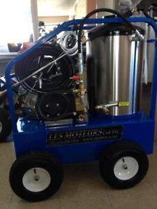 Laveuse  pression eau chaude commercial  4,000 lbs avec 4 GPM