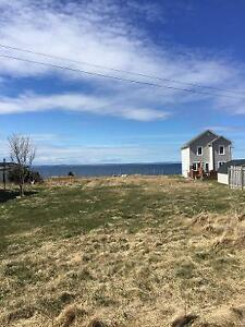 Vacant Oversized Oceanfront Lot in Conception Bay South!