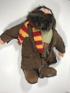 "▀▄▀GUND Harry Potter HAGRID 16"" Plush STUFFED ANIMAL Toy"