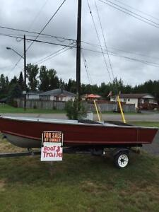 Starcraft boat and trailer for sale.