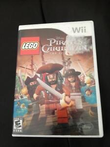 WII LEGO PIRATES OF THE CARIBBIAN GAME FOR SALE Stratford Kitchener Area image 2
