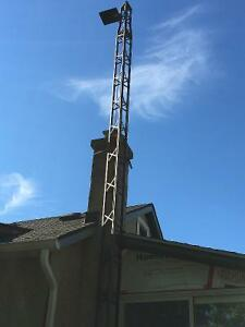 TV Antenna Tower - 25-30 ft tall