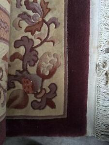 Free Big Chinese carpet 9 x 12 needs cleaning