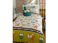 New bed set single
