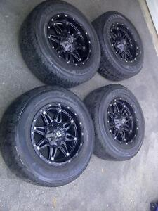 """18"""" Fuel Hostage rims tires and TPMS"""