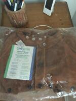 NEW Praxair Pro Star Leather Welding Cape Sleeve Large