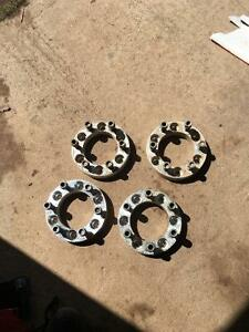 2in wheel spacers for a 6 bolt Chevy