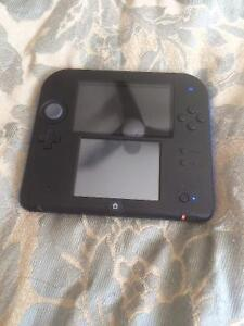 Nintendo 2ds with two games