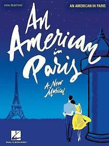 An American in Paris: Vocal Line with Piano Accompaniment by Gershwin, Georg NEW