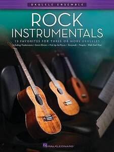 Ukulele Ensemble: Rock Instrumentals, New, Various Book