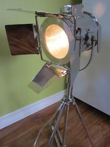 Hollywood Movie set Chrome table light