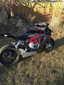 Mv agusta f3 trade for 1000cc