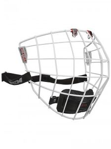 white ccm cage (like new)