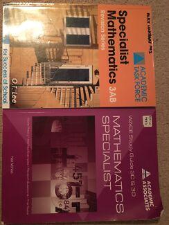 Yr11 OT Lee book, Yr 12 Wace guide specialist books