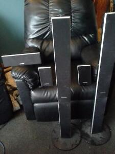 Samsung surround speakers (tested working)