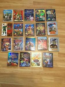 Various Disney and Dreamwork animated movies
