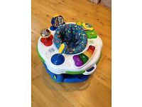 Leapfrog learn and groove activity station toy baby walker bouncer