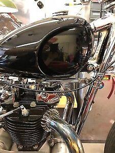 Custom choppers Harley-Davidson hand made
