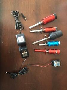 RC Nitro Glow Igniter/Starter Special - Nimh Battery - Charger