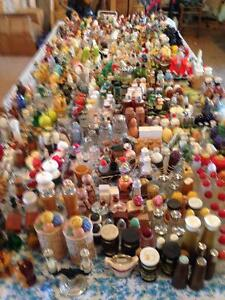 400 sets of antique salt and pepper shakers
