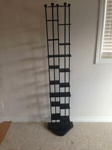 "69"" H, 16 shelf to hold CD's or decorations"