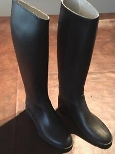 Rubber Horse Riding Boots from Greenhawk Size 6