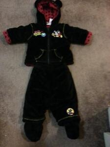 Disney Mickey Mouse 2 pc winter suit